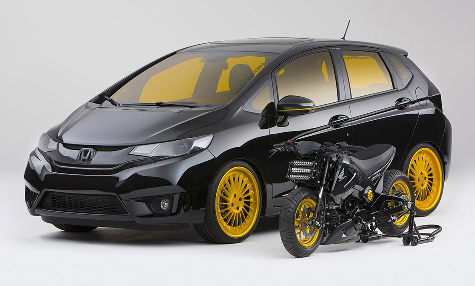 2015 MAD Industries Honda Fit Front Angle