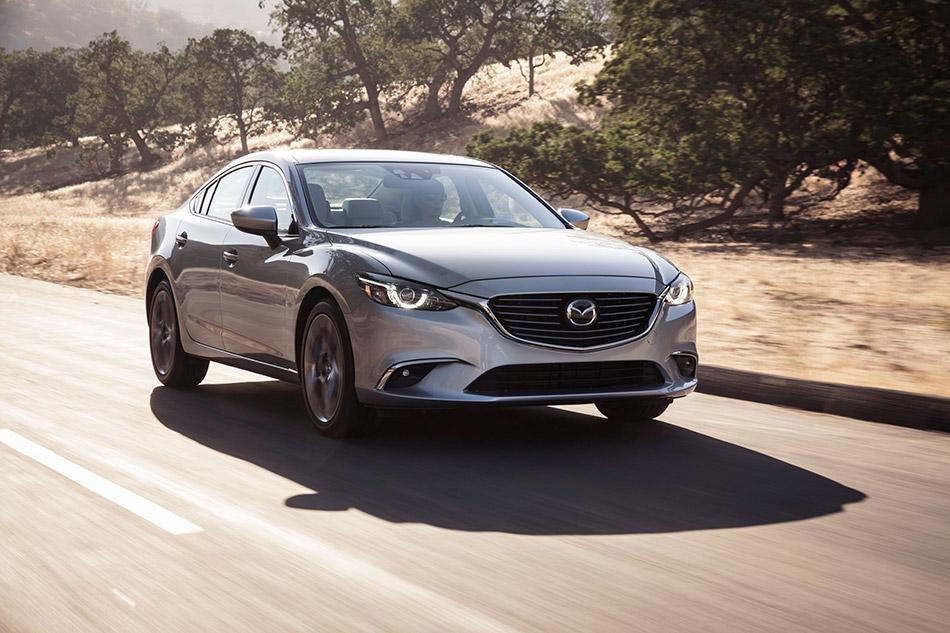 2016 Mazda 6 Front Angle