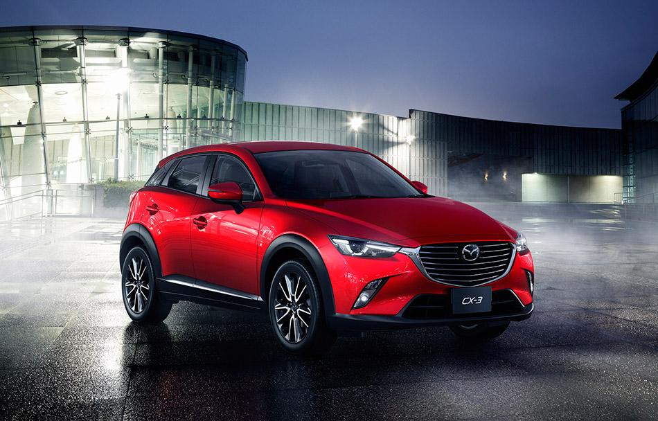 2016 Mazda CX-3 Front Angle