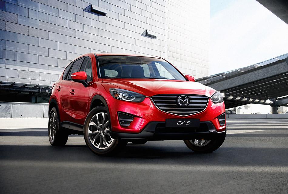 2016 Mazda CX-5 Front Angle