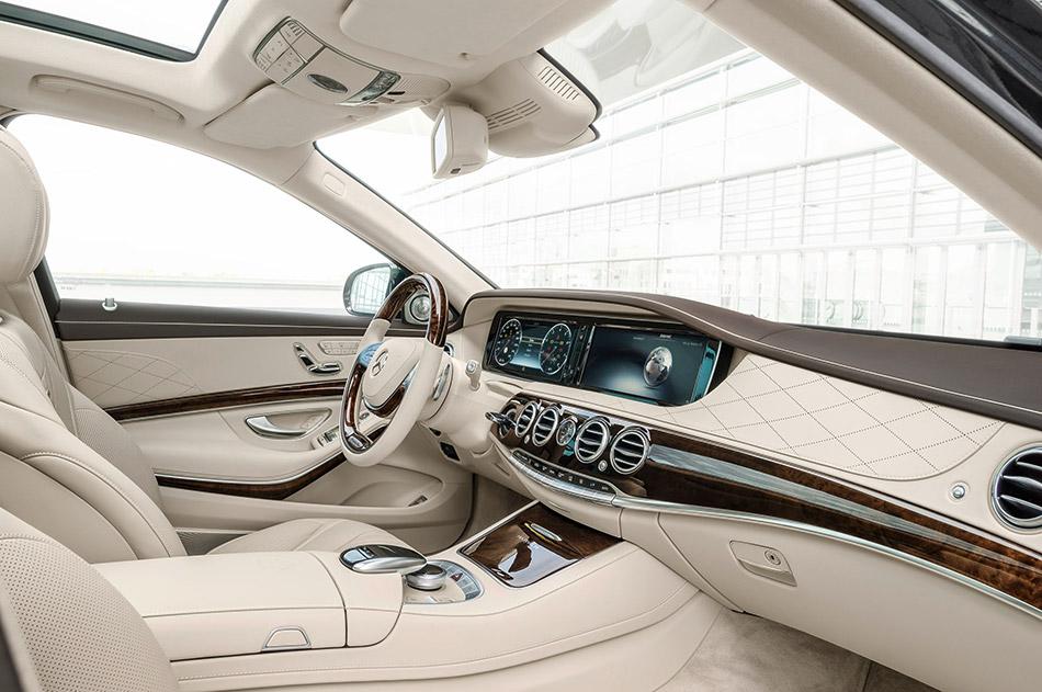 2016 Mercedes-Benz S-Class Maybach Interior