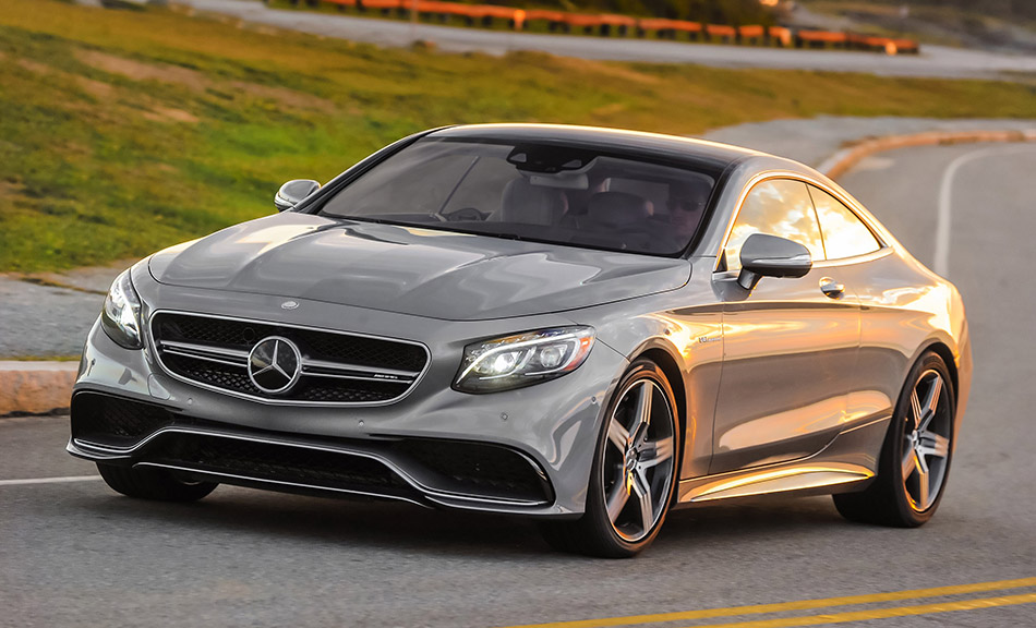2015 Mercedes-Benz S63 AMG Coupe 4MATIC Front Angle
