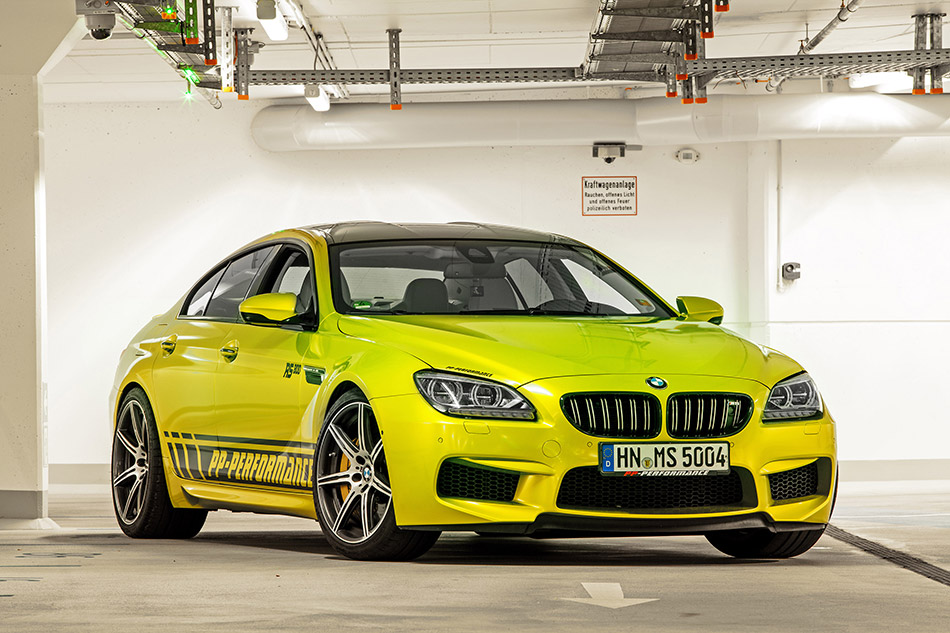 2014 PP-Performance BMW M6 RS800 Gran Coupe Front Angle