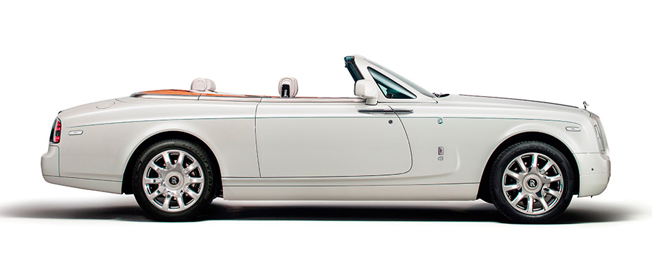 2014 Rolls-Royce Maharaja Phantom Drophead Coupe Side