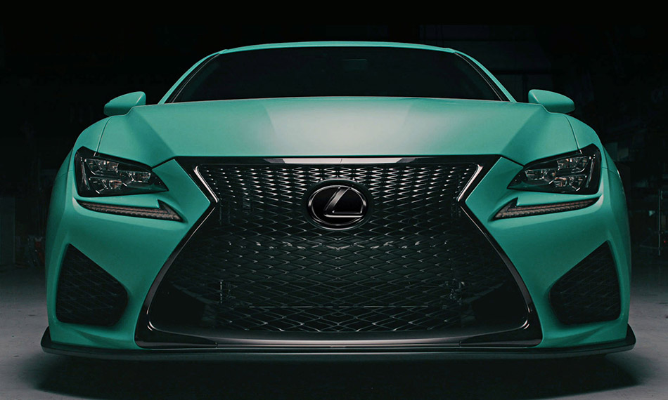 2015 VIP Auto Salon Lexus RC F Front Angle