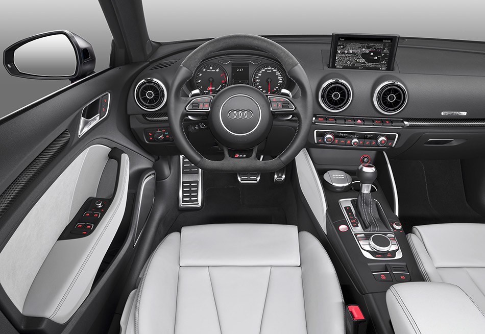 2015 Audi RS3 Sportback Interior