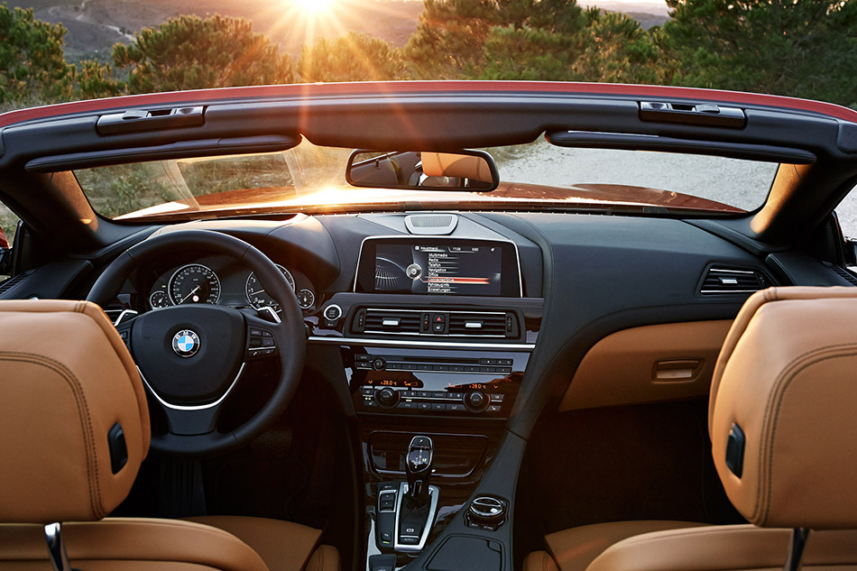 2015 BMW 6-Series Convertible Interior