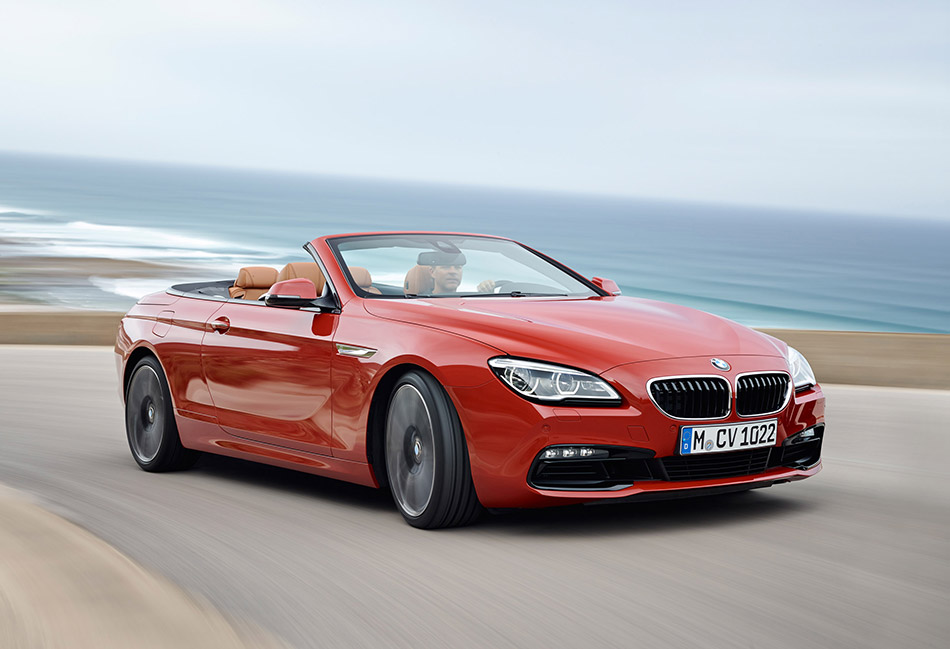 2015 BMW 6-Series Convertible Front Angle