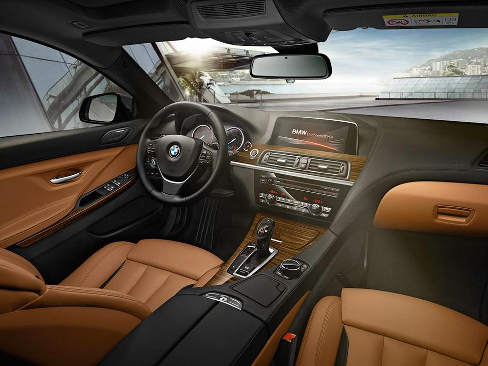 2015 BMW 6-Series Gran Coupe Interior