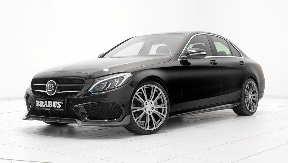 2014 Brabus Mercedes-Benz C-Class AMG Front Angle