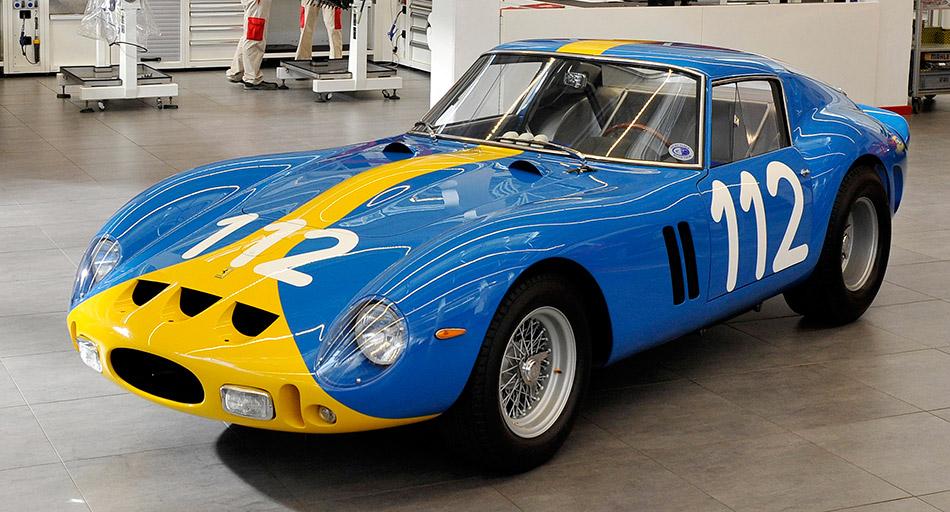 1962 Ferrari 250 GTO Blue Front Angle
