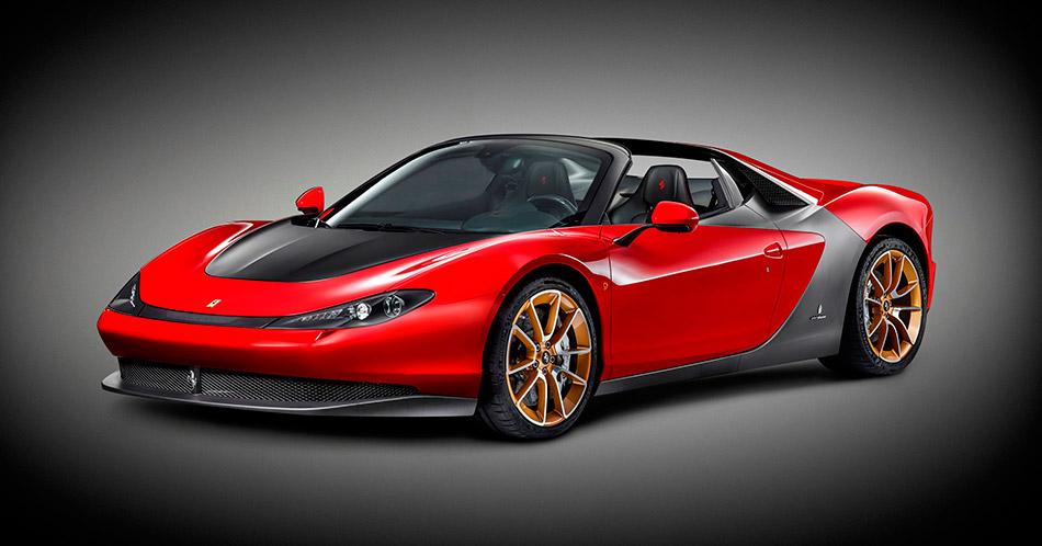 2015 Ferrari Sergio Front Angle