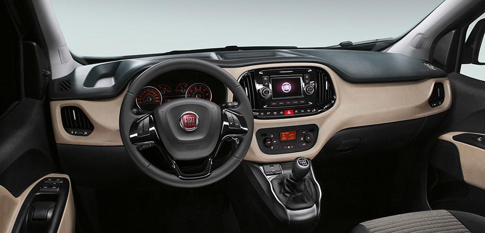 2015 Fiat Doblo Interior