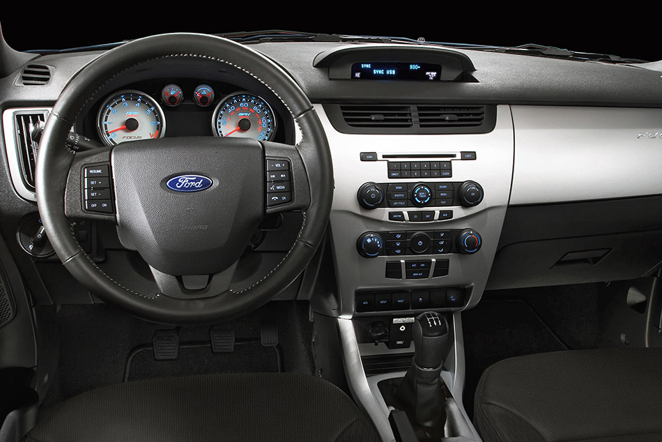 2011 Ford Focus Sedan Interior