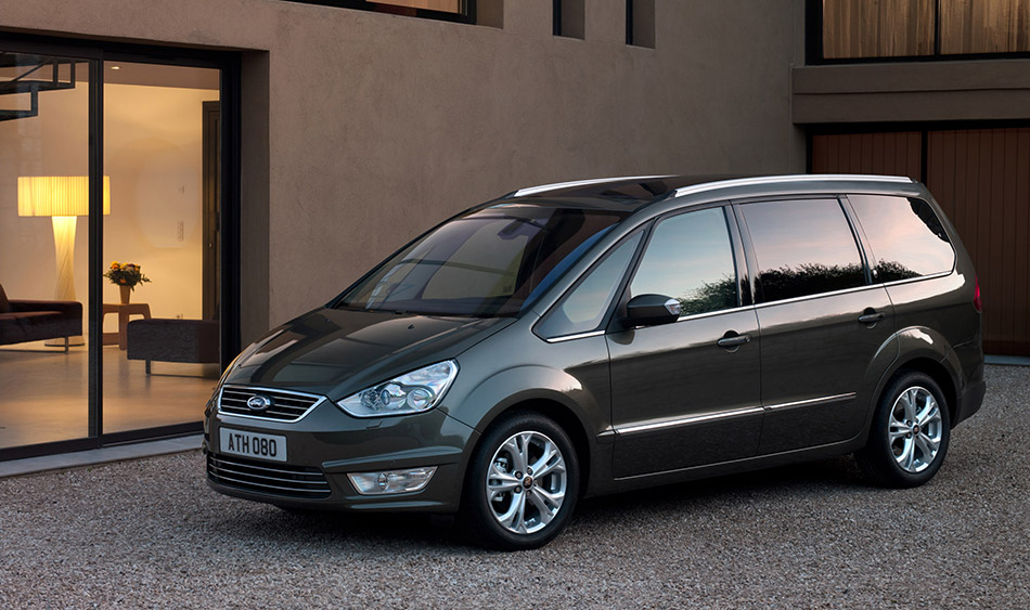 2011 Ford Galaxy Front Angle