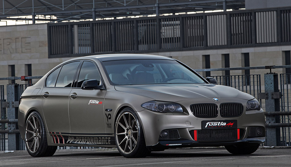 2014 Fostla BMW 550i Front Angle