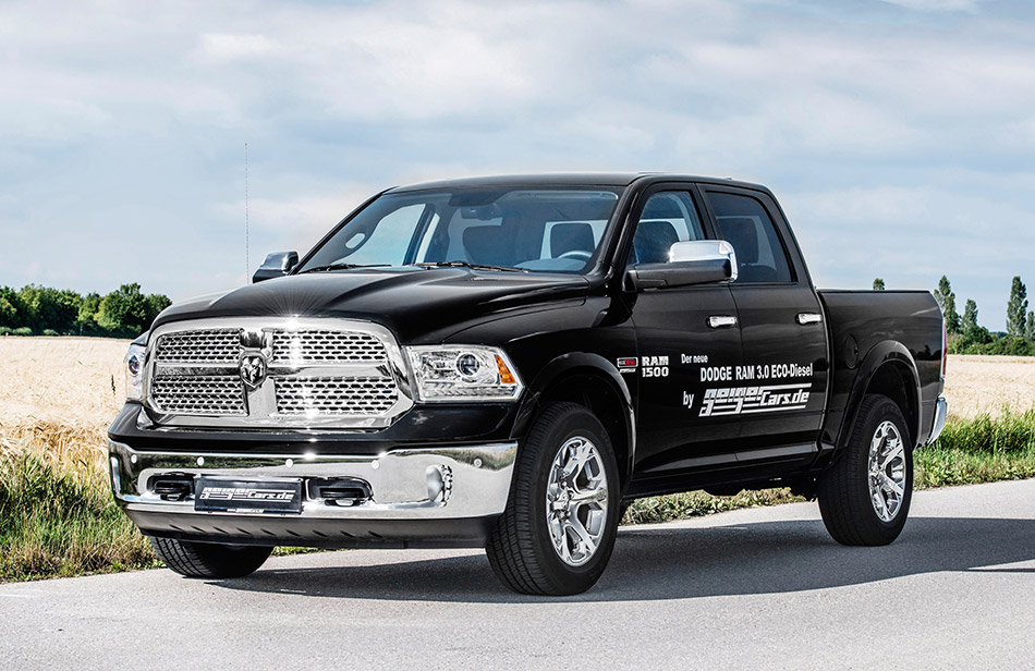 2014 GeigerCars Dodge RAM 1500 V6 EcoDiesel Front Angle