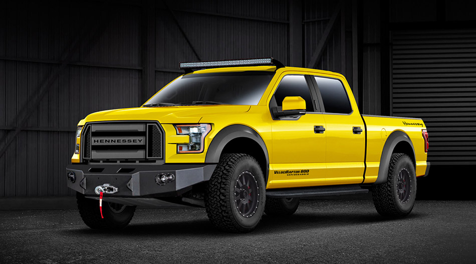 2015 Hennessey Ford VelociRaptor 600 Supercharged Front Angle