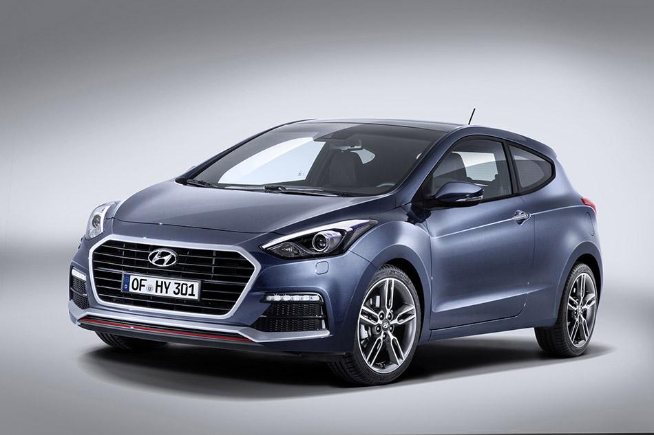 2015 Hyundai i30 Turbo Front Angle