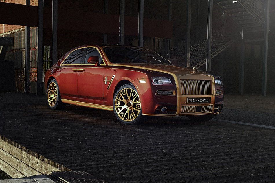 2014 Mansory Rolls-Royce Ghost II Front Angle