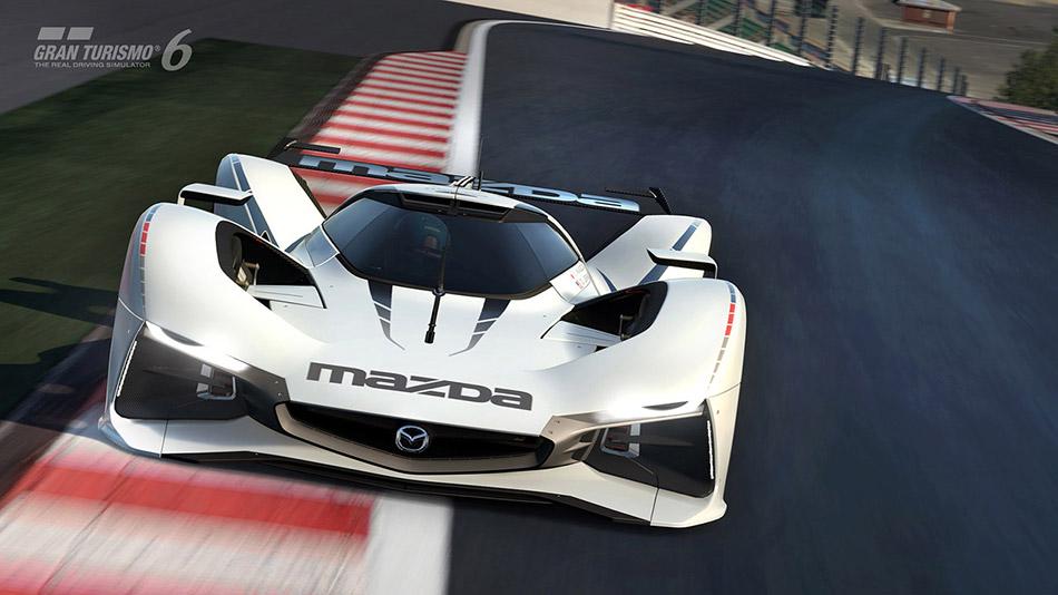 2015 Mazda LM55 Vision Gran Turismo Front Angle