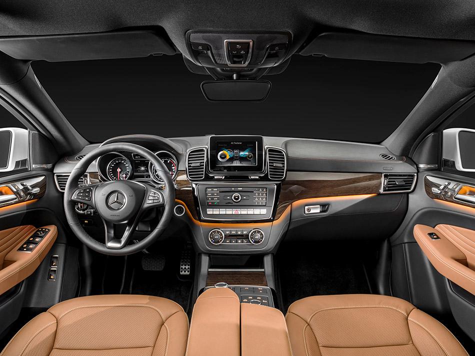2016 Mercedes-Benz GLE Coupe Interior