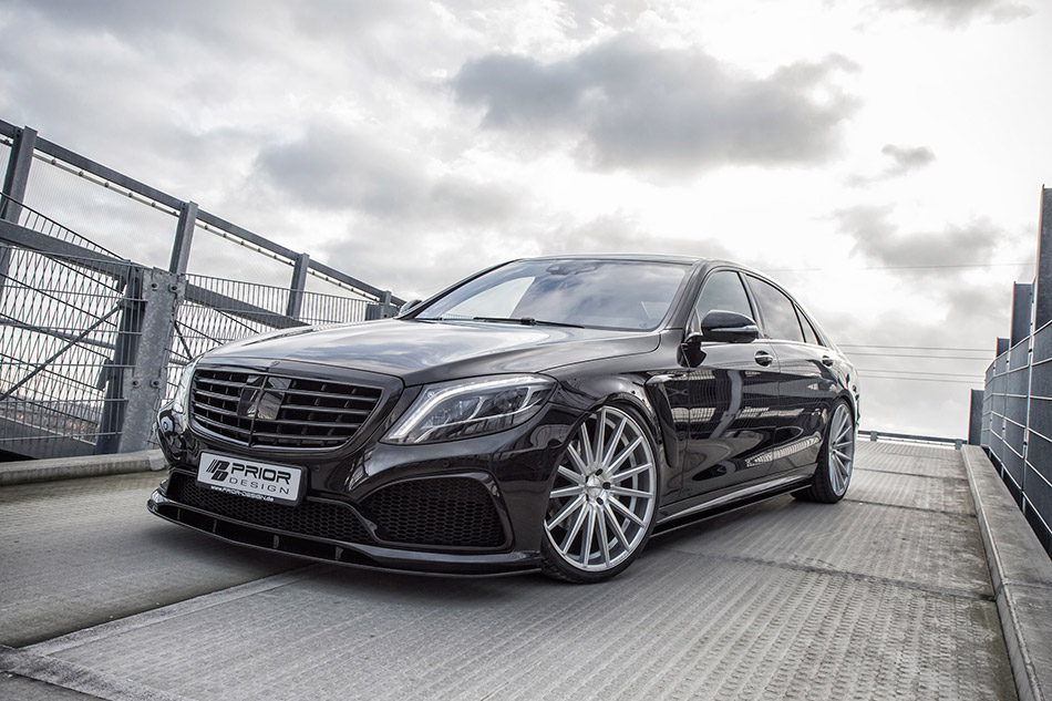 2014 Prior-Design Mercedes-Benz S-Class W222 Front Angle