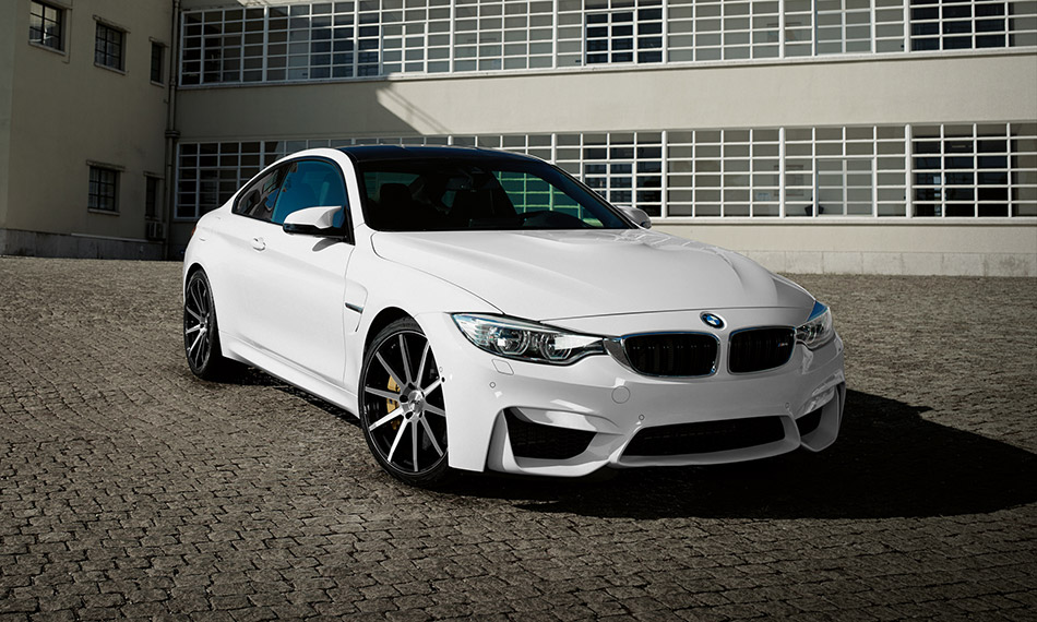 2015 AEZ Straight BMW M4 Front Angle