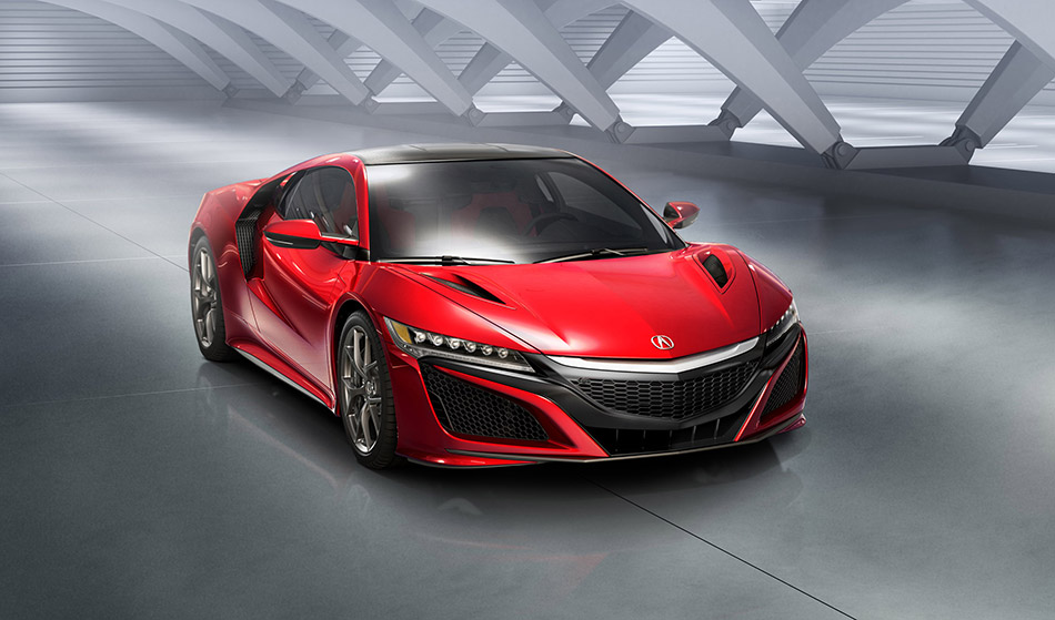 2016 Acura NSX Front Angle