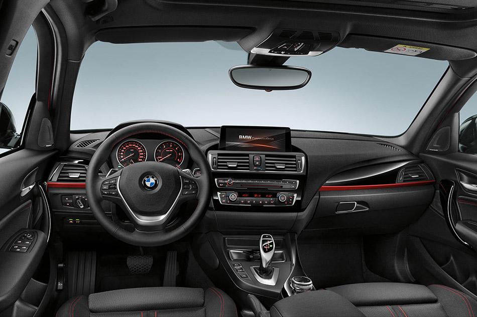 2016 BMW 1-Series Interior