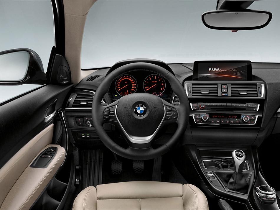 2016 BMW 1-Series 3-door Interior