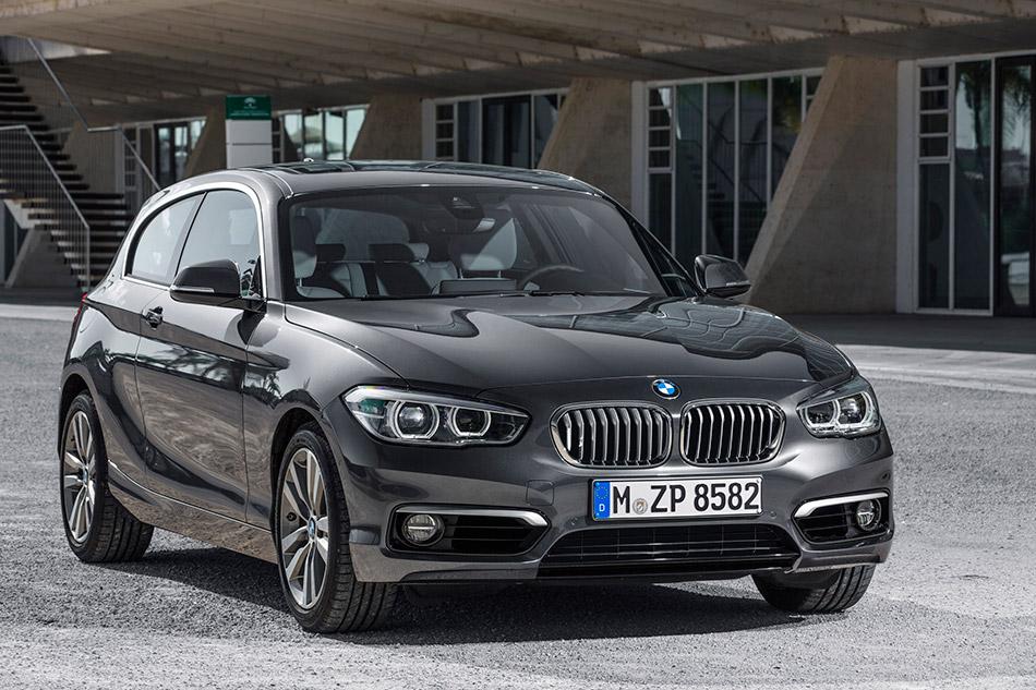 2016 BMW 1-Series 3-door Front Angle