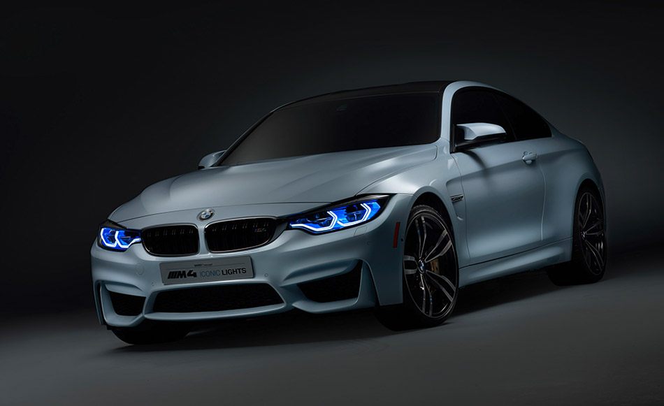 2015 BMW M4 Iconic Lights Concept Front Angle