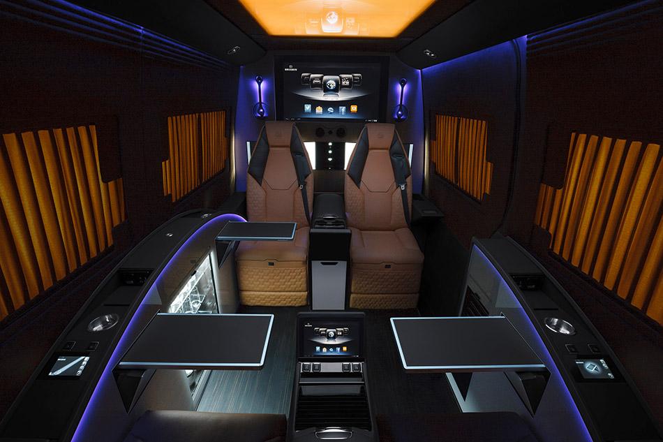 2014 Brabus Mercedes-Benz Sprinter Business Lounge Concept Interior