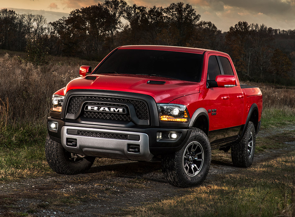 2015 Dodge Ram 1500 Rebel Front Angle