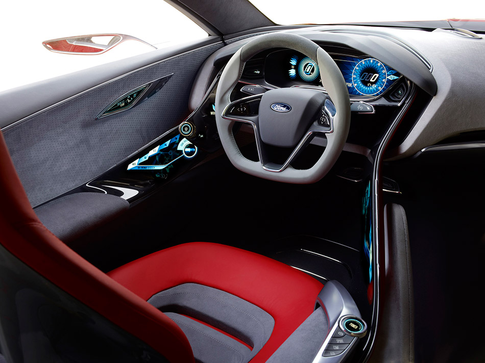 2011 Ford Evos Concept Interior