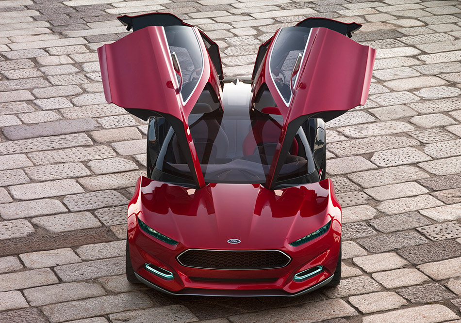 2011 Ford Evos Concept Front Angle