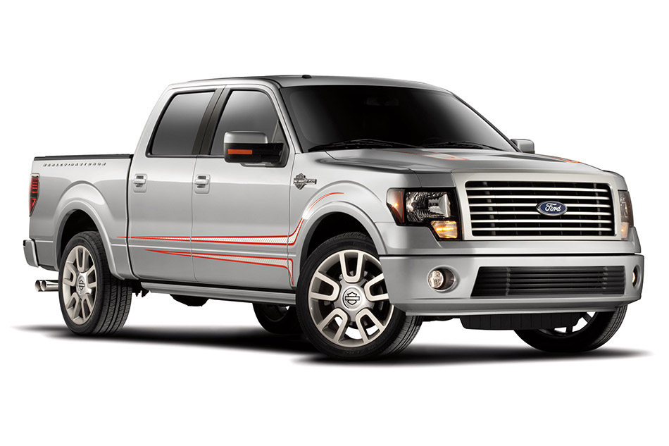 2011 Ford F-150 Harley-Davidson Front Angle