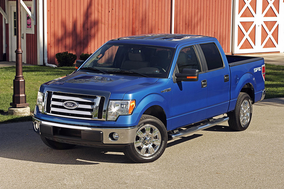 2009 Ford F-150 SFE Front Angle