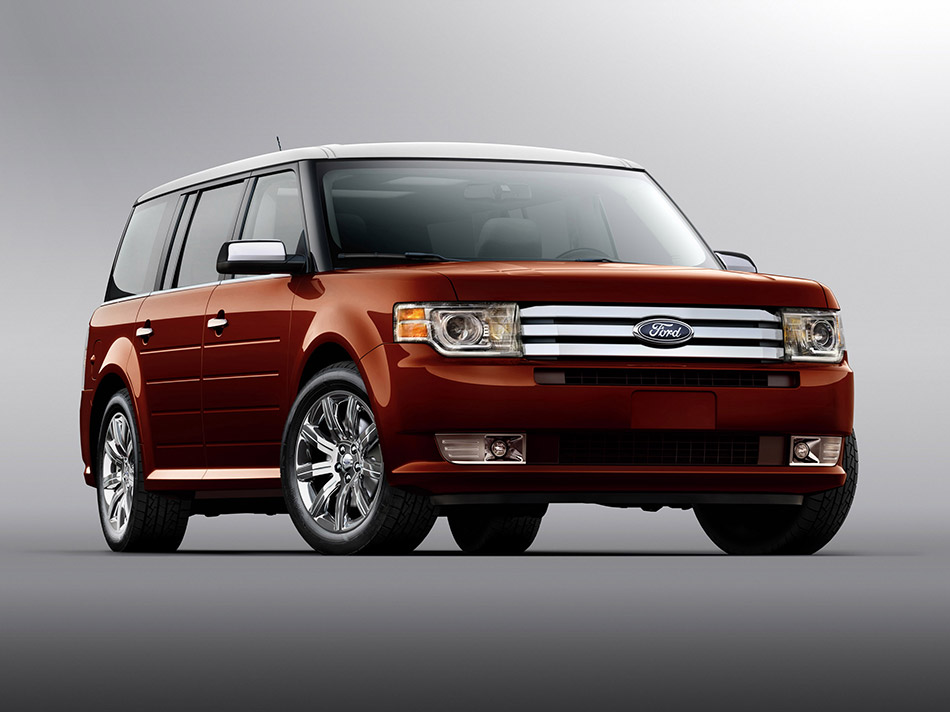 2009 Ford Flex Front Angle