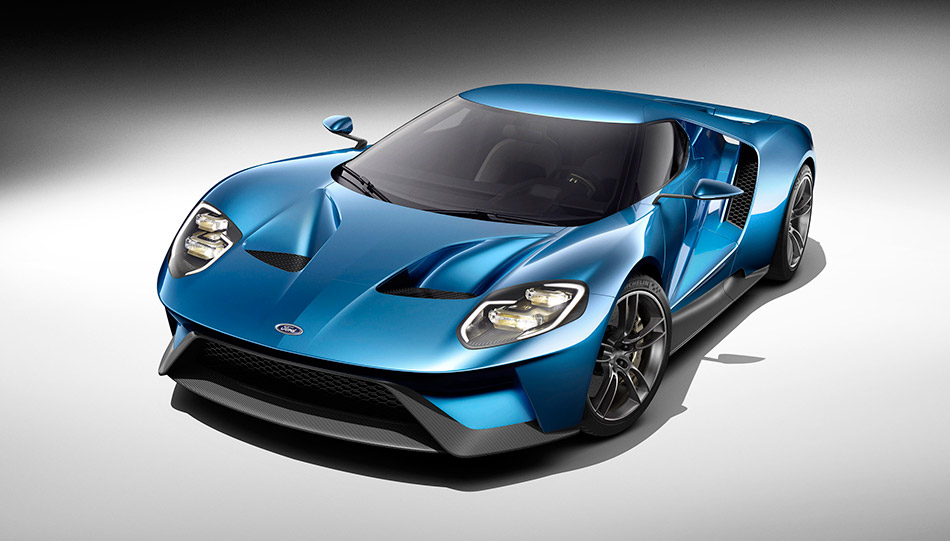 2016 Ford GT Front Angle