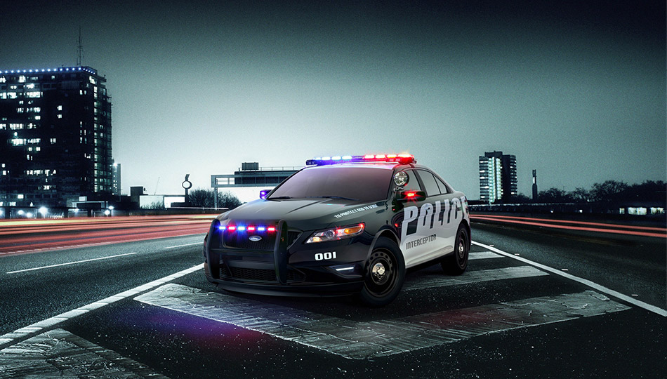 2010 Ford Police Interceptor Concept Front Angle