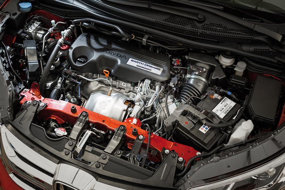 2015 Honda CR-V EU-Version Engine