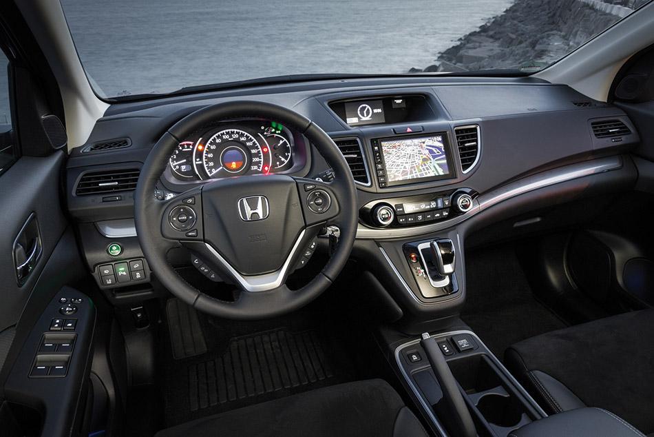 2015 Honda CR-V EU-Version Interior
