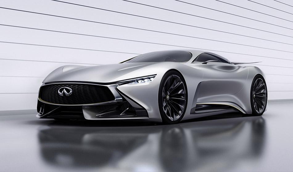 2014 Infiniti Vision Gran Turismo Concept Front Angle