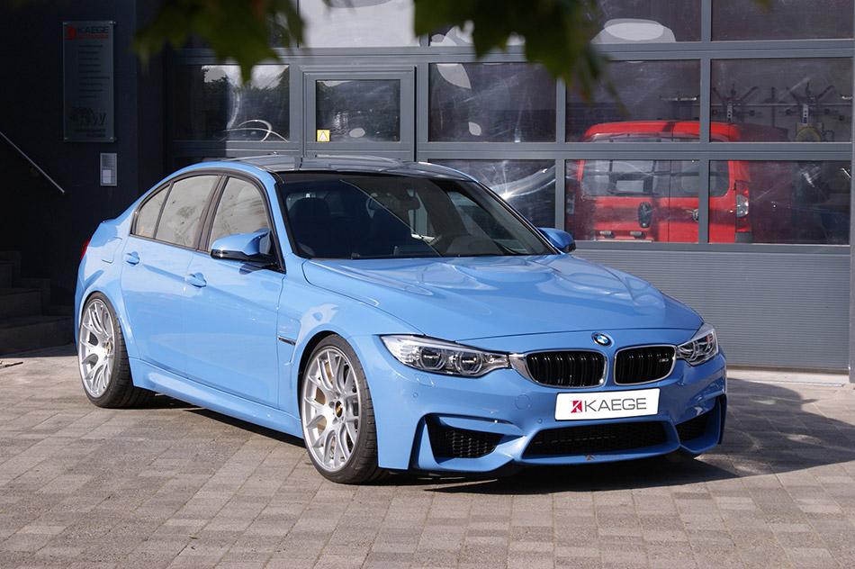 2015 Kaege BMW M3 Front Angle