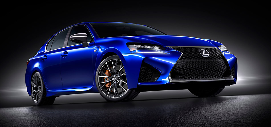 2016 Lexus GS F Front Angle