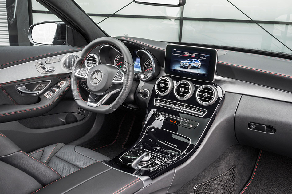 2016 Mercedes-Benz C450 AMG 4Matic Estate Interior