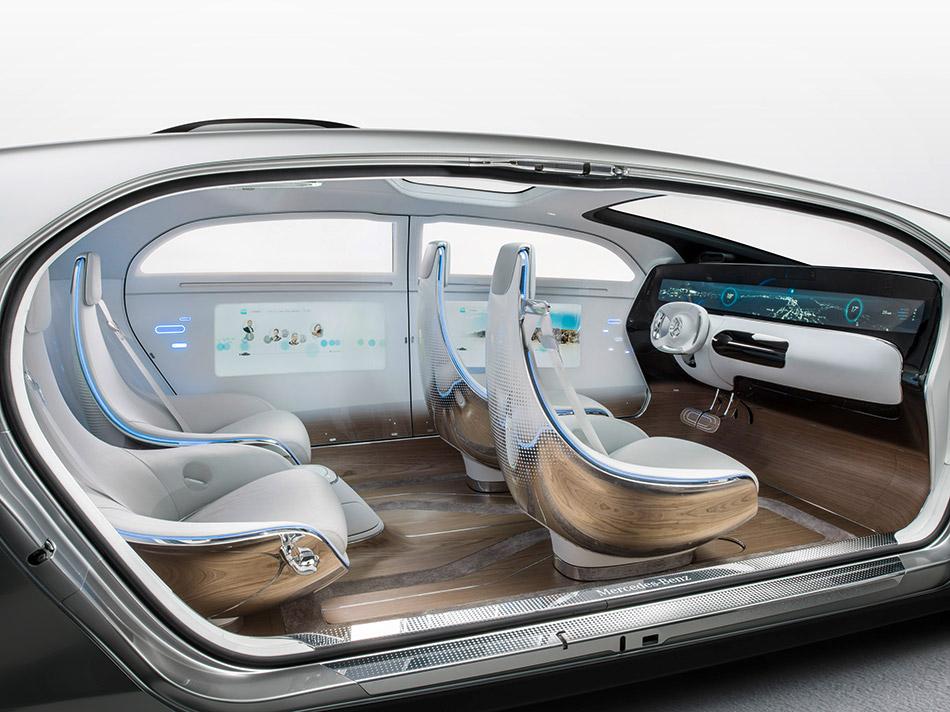 2015 Mercedes-Benz F015 Luxury in Motion Concept Interior