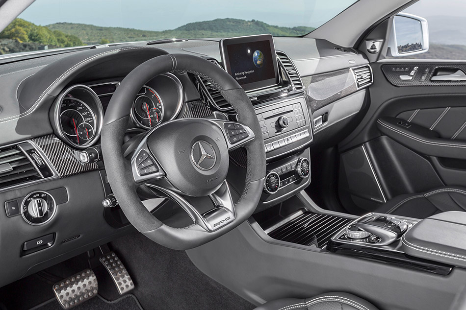 2016 Mercedes-Benz GLE63 AMG Coupe Interior